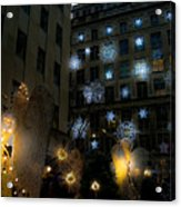 Rockefeller Center Christmas Acrylic Print