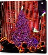 Rockefeller Center Christmas Tree Acrylic Print