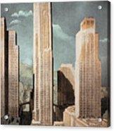 Rockefeller Center Acrylic Print