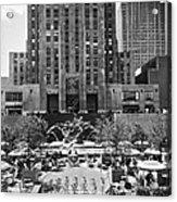 Rockefeller Center Plaza Acrylic Print