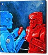 Rockem Sockem 2 The Rematch Acrylic Print