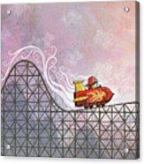 Rocket Me Rollercoaster Acrylic Print
