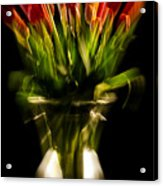 Rocket Propelled Tulips Acrylic Print