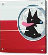Rocket Dog Acrylic Print