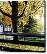 Rockford In Autumn Acrylic Print