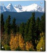 Rockies Mtn M 204 Acrylic Print