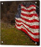 Rockin' The Flag Acrylic Print