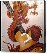 Rocking Dragon Acrylic Print