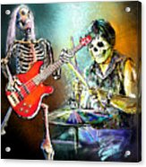 Rocking The Free Spirits Acrylic Print