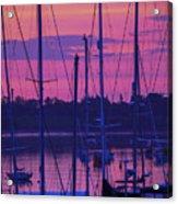 Rockland Sunrise Acrylic Print