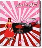 Rock'n Roll The Sweet Fifties Acrylic Print