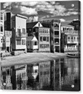 Rockport Coast In Ir Acrylic Print