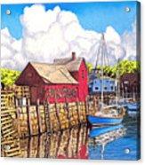 Rockport Cove Acrylic Print