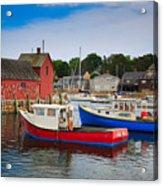 Rockport Harbor 2 Acrylic Print