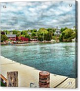 Rockport Inner Harbor Acrylic Print