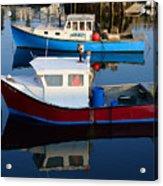 Rockport Reflections Acrylic Print