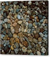 Rocks From Beaches Acrylic Print