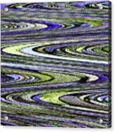 Rocks On Beach Abstract Acrylic Print