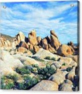 Rocks Upon Rocks Acrylic Print