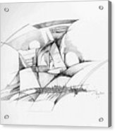 Rockscape 2 Acrylic Print