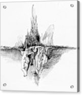 Rockscape 5 Acrylic Print