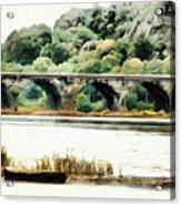 Rockville Bridge On The Susquehanna River Acrylic Print