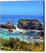 Rocky California Coast 006 Acrylic Print