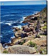 Rocky Coastline 1 Acrylic Print