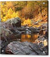 Rocky Creek II On Mill Mountain In The Missouri Ozarks Acrylic Print