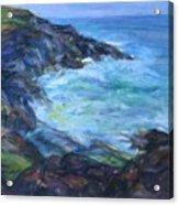 Rocky Creek Viewpoint Acrylic Print