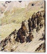 Rocky Landscape - 3 - French Alps Acrylic Print