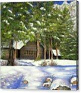 Rocky Mountain Blues Acrylic Print