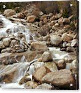 Rocky Mountain Cascade Acrylic Print