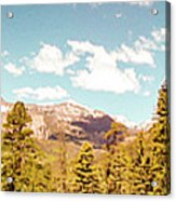 Rocky Mountain Panorama Too Acrylic Print