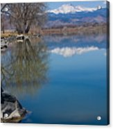Rocky Mountain Reflections Acrylic Print