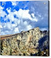 Rocky Mountain Summit Acrylic Print