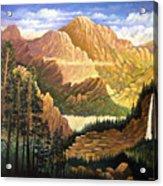 Rocky Mountain Sunrise Acrylic Print