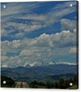 Colorado Rocky Mountain High Acrylic Print