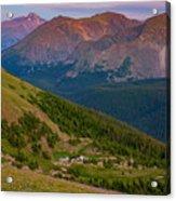 Rocky Mountain Wilderness Acrylic Print