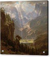 Rocky Mountains, Lander's Peak Acrylic Print