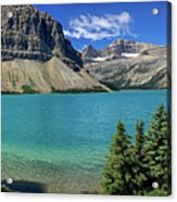 Rocky Mountains Panorama Acrylic Print