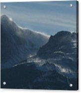 Rocky Mts Mtn M 202 Acrylic Print