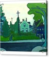 Rocky Neck Art Colony East Gloucester Ma Acrylic Print