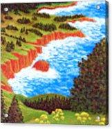Rocky Oregon Coast Acrylic Print