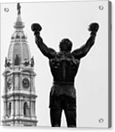 Rocky - Philly's Champ Acrylic Print