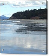Rocky Point  Beach Wa Acrylic Print