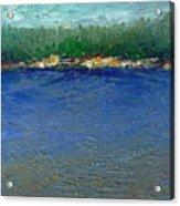 Rocky Point Dream At Bass Lake Acrylic Print