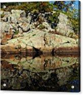 Rocky Reflection Acrylic Print