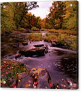 Rocky Run Creek Acrylic Print