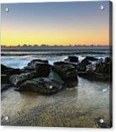 Rocky Seascape Acrylic Print